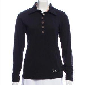 Burberry Long-Sleeve Polo